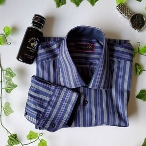 Other - 🍁 Casual Button Down Striped Shirt